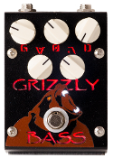 Grizzly Bass- Overdrive Distortion Bass Effects Pedal